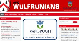 AFC Wulfrunians Home Page