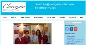 Claregate Dental Home Page